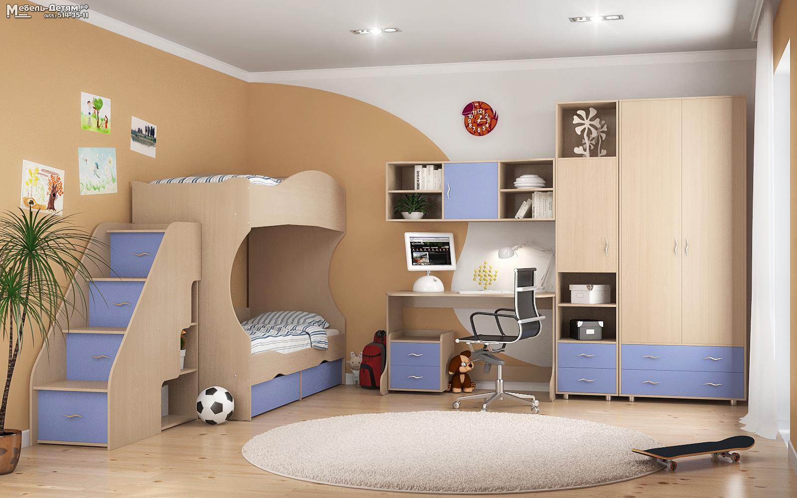 Детские спальни дельта детская