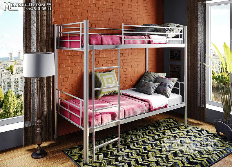 Двухъярусная кровать металлическая своими руками