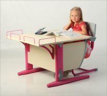 Парта + стул + приставка (СУТ 14-01) Комплект растущей мебели ДЭМИ Детская парта