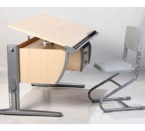 Парта с тумбой + стул (СУТ 15-03) Комплект мебели Дэми Детская парта-трансформер