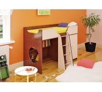 Детская стенка Орбита-6 (фасад цветной), спальное место 160*70