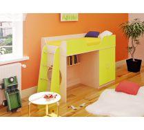 Кровать для маленьких детей Орбита-6 (цв. фасад), спальное место 160*70