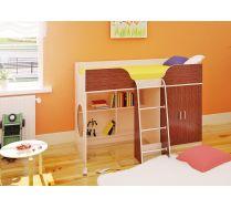 Мебель Орбита-6 (цветной фасад) - кровать для детей, спальное место 160*70