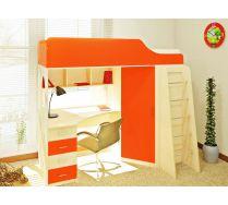 Детская кровать чердак Орбита-7 спальное место 190*80