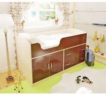 Детская мебель Орбита-9 - кровать чердак для маленьких детей, спальное место 160*70 см..