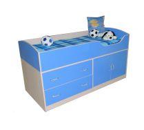 Кровать чердак Орбита-9 детская мебель, спальное место 160х70 см.