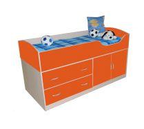Детская Орбита-9 - кровать чердак для маленьких детей, спальное место 160*70 см.