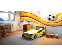 Кровать машина Феррари Престиж (4 цвета). Внимание! В стоимость включена орт.решетка 160х70 см!