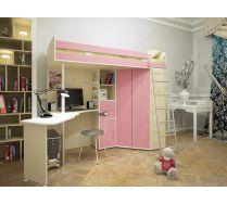 Детская кровать Орбита-1 для девочек. Спальное место 80х200 см. ХИТ ПРОДАЖ!