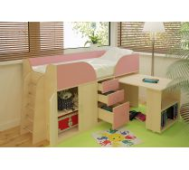 Детская кровать Орбита-10 для девочек, спальное место 190х80см. Шесть цветов фасадов!