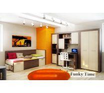 Комната для девочки Фанки Тайм (ФТ-03 + ФТ-04 + ФТ-05 + ФТ-08 + ФТ-09 ФТ-11)