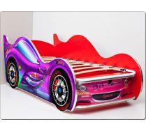 Детская кровать-машина СпортКар-2 Люкс ViVera спальное место 170х70 с ортопедической решеткой в комплекте.