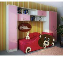 Мебель для девочек диванчик Тедди + мебель Фанки Кидз