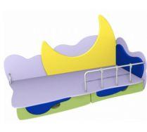 Детская игровая кровать Месяц 2 (160х80) бортик не входит в стоимость