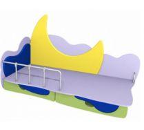 Детская игровая кровать Месяц 2 (140х70) бортик не входит в стоимость