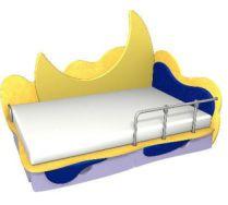 Детская игровая кровать Месяц 3 (160х80) бортик не входит в стоимость