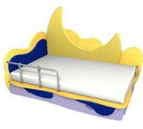 Детская игровая кровать Месяц 3 (140х70) бортик не входит в стоимость