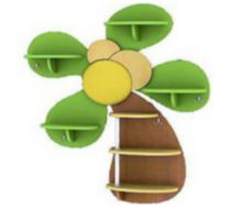 Детская игровая мебель полка Пальма 1