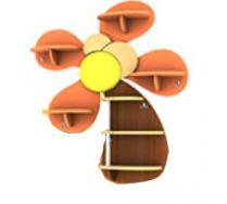 Детская игровая мебель полка Пальма 3