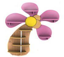 Детская игровая мебель полка Пальма 5