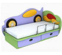 Детская кровать Машинка 1 (140х70) бортик не входит в стоимость