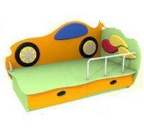 Детская кровать Машинка 2 (140х70) бортик не входит в стоимость
