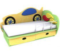 Детская кровать Машинка 3 (140х70) бортик не входит в стоимость