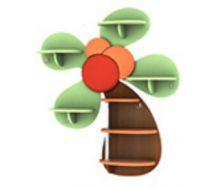 Игровая мебель полка Малая Пальма 2