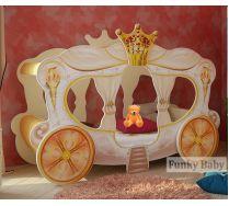 Детская кровать-карета Золушка