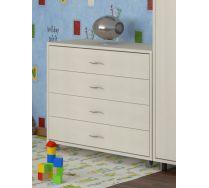 Комод КМ-01 детская мебель Портофино дуб кремона/дуб кремона