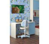 Стол СТ-01 детская мебель Портофино дуб кремона/голубой