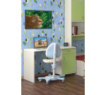 Стол СТ-01 детская мебель Портофино дуб кремона/зеленый