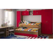 Композиция 1 - детская мебель Орбита 17