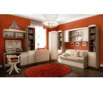Модульная мебель Фанки Крем для девочек