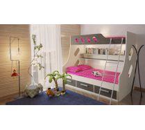 Кровать для детей двухъярусная Орбита 16