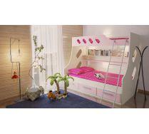 Двухъярусная кровать для девочек Орбита 16
