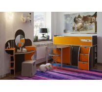 Кровать-чердак Орбита-19 для детей