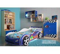 Детская мебель для мальчиков + Кровать -машина Турбо Кар Оптима
