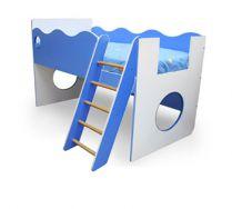 Кровать чердак со спальным местом 160х80см - серия Морячок