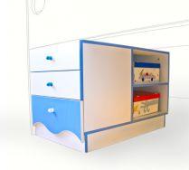 Тумба для кровати - серия Морячок