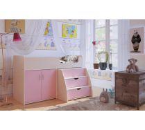 Детская кровать-чердак для девочек Орбита 23 сп.место 160х90см