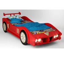 Кровать машина МАКЛАРЕН спальное место 170*80 цвет красный