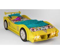 Кровать машина МАКЛАРЕН спальное место 170*80 цвет желтый
