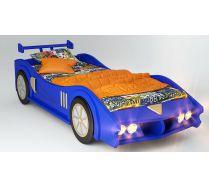 Кровать машина МАКЛАРЕН спальное место 170*80 цвет синий