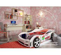Детская мебель для девочек Фанки Авто + кровать Турбо Кар Оптима (сп.место 160х75)