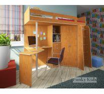 Детская мебель - Кровать чердак Фанки Кидз -1 Лайт