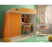 Кровать - чердак для детей Фанки Кидз 4