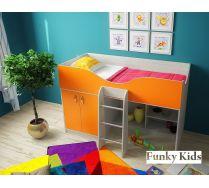 Кровать чердак для малышей Фанки Кидз 6