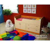 Кровать чердак для маленьких Фанки Кидз 9
