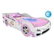 Кровать машина Принцесса Стандарт  (сп. место 160х75см)